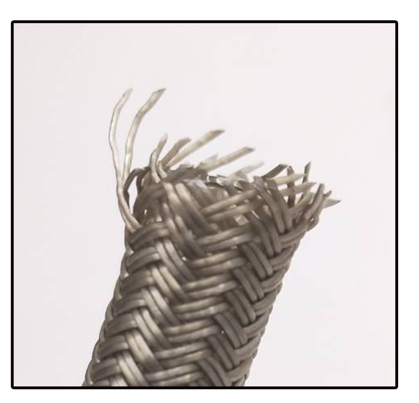 Polymer braided wire