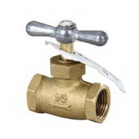 Brass IPS Stop Valve # 32-013 - Are Sheng Plumbing Industry