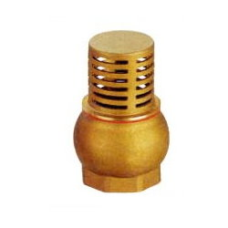 Brass Foot Valve # 33-004- Are Sheng Plumbing Industry
