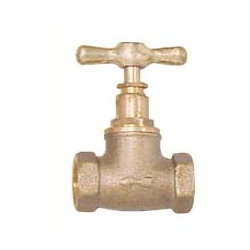 Brass Stop Valve # 33-010 - Are Sheng Plumbing Industry