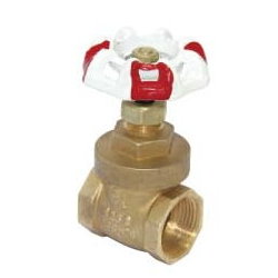 Brass Gate Valve # 34-005WR- Are Sheng Plumbing Industry