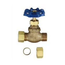 Compression Stop Valve # 34-017-58 - Are Sheng Plumbing Industry