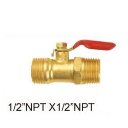Brass Gas Cock # B41-11- Are Sheng Plumbing Industry