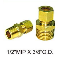 Brass fittings # 19-008 - Are Sheng Plumbing Industry
