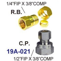 Brass fittings # 19A-021 - Are Sheng Plumbing Industry