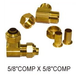 Brass fittings # B35-08 - Are Sheng Plumbing Industry