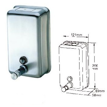 Deck mount soap dispenser # B60-03 - Are Sheng Plumbing Industry