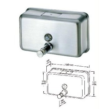 Deck mount soap dispenser # B60-06 - Are Sheng Plumbing Industry