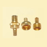 Brass nozzle and hose connector # 261-025 - Are Sheng Industry