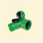 Brass nozzle and hose connector # P09-3210 - Are Sheng Industry