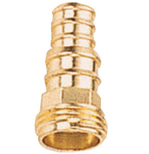 Brass nozzle and hose connector # ASE-3162 - Are Sheng Industry