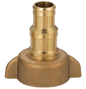 Brass nozzle and hose connector # ASE-3165 - Are Sheng Industry