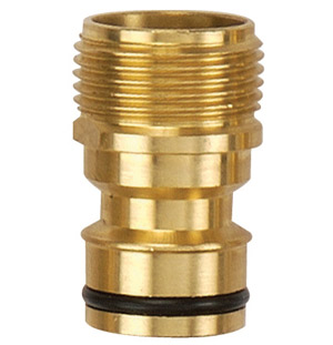 Brass nozzle and hose connector # ASE-8231 - Are Sheng Industry