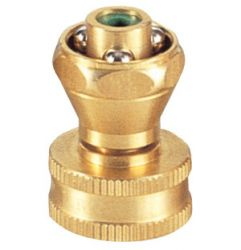 Brass nozzle and hose connector # ASE-3220 - Are Sheng Industry