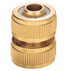 Brass nozzle and hose connector # ASE-7200 - Are Sheng Industry