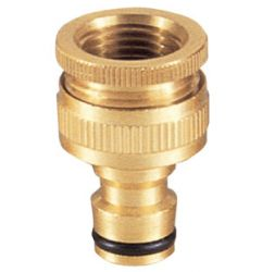 Brass nozzle and hose connector # ASE-8253 - Are Sheng Industry