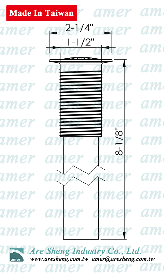 lavatory grid drain drawing
