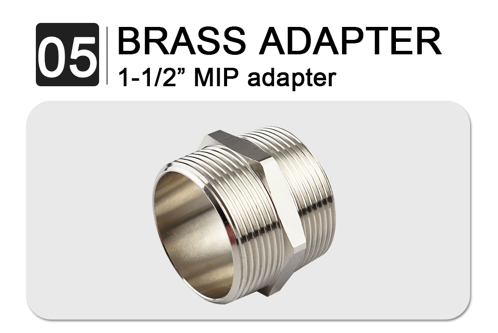 brass adpater -twist handle waste valve-no oveflow