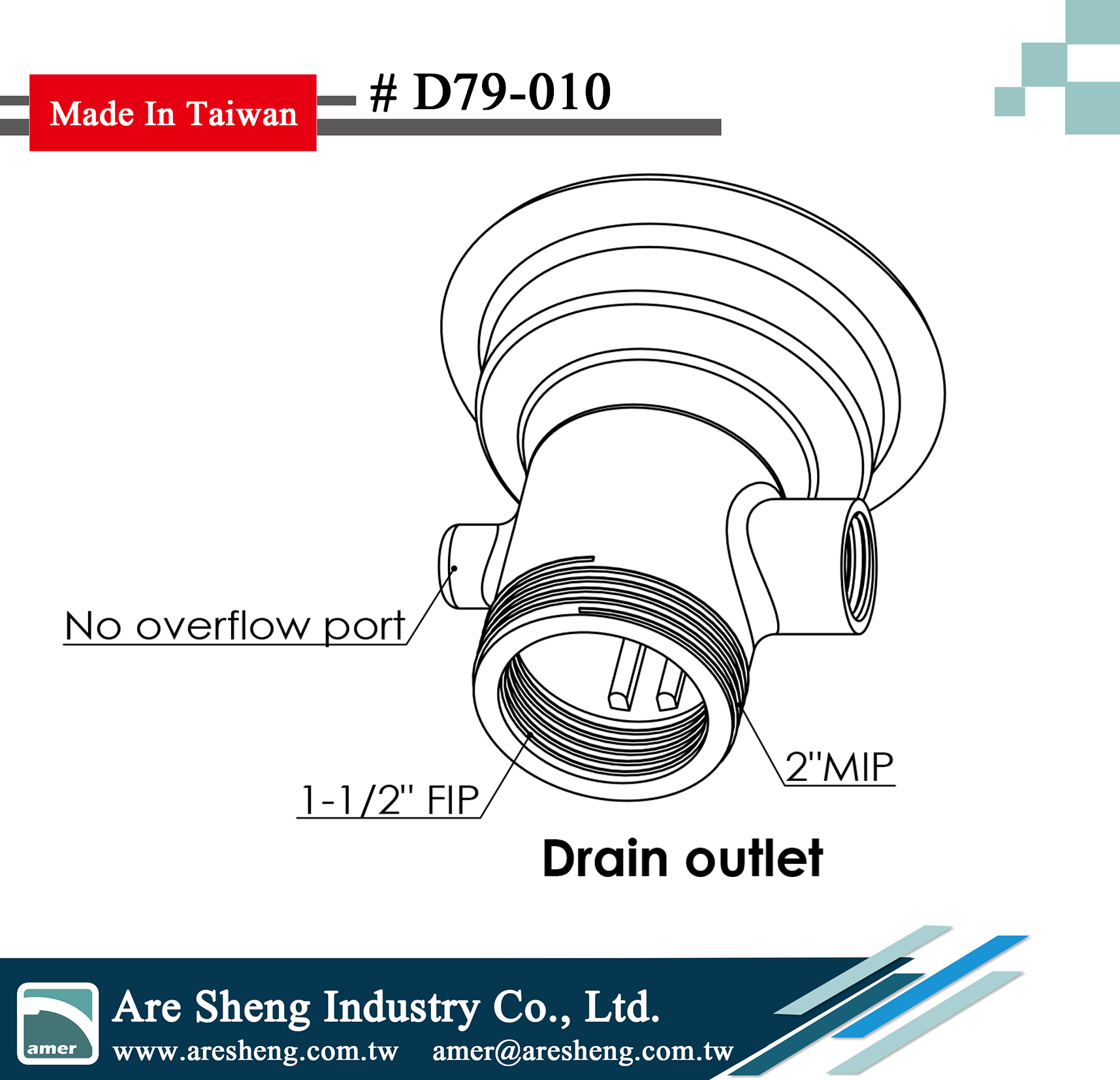 waste valve lever handle drain body drawing no overflow