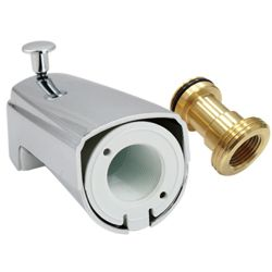 Bath tub spout # D50-004-PL- Are Sheng Plumbing Industry