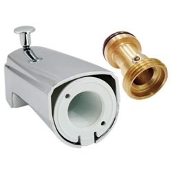 Bath tub spout # D50-004-BR- Are Sheng Plumbing Industry