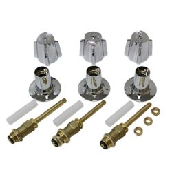 Shower valves combo #D61-001 fits Price Pfister - Are Sheng Plumbing Industry