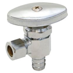 Brass angle valve # 18-005 - Are Sheng Plumbing Industry