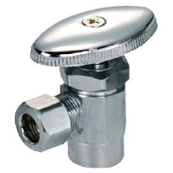 Brass angle valve # 18-006 - Are Sheng Plumbing Industry