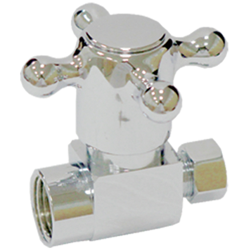 Brass straight valve # D63-005 - Are Sheng Plumbing Industry