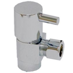 Brass angle valve # D64-007 - Are Sheng Plumbing Industry