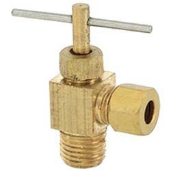 NEEDLE ANGLE VALVE # 181-017-1838- Are Sheng Plumbing Industry