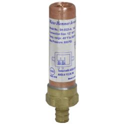 Water hammer arrestor # D74-004 - Are Sheng Plumbing Industry