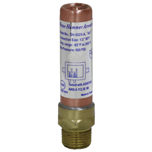 Water hammer arrestor # D74-005 - Are Sheng Plumbing Industry