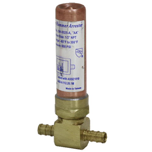 Water hammer arrestor # D74-010 - Are Sheng Plumbing Industry