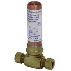 Water hammer arrestor # D74-013 - Are Sheng Plumbing Industry