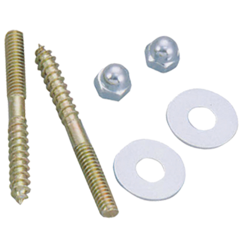 Toilet repair bolts and sponge # 38-003S - Are Sheng Plumbing Industry