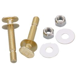 Toilet repair bolts and sponge # 38-004S - Are Sheng Plumbing Industry