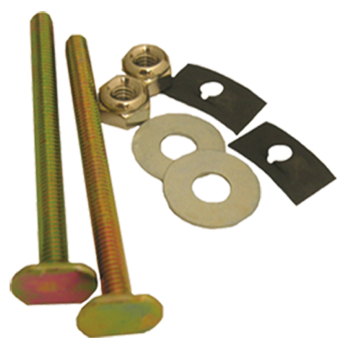 Toilet repair bolts and sponge # D100-001 - Are Sheng Plumbing Industry