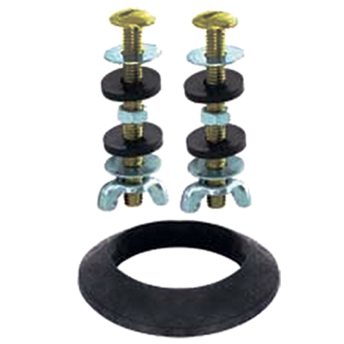 Toilet repair bolts and sponge # D100-002 - Are Sheng Plumbing Industry