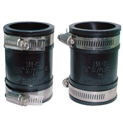 Rubber pipe fittings # 39A-017 - Are Sheng Plumbing Industry