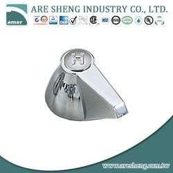 Jameco metal chrome handle D44-002