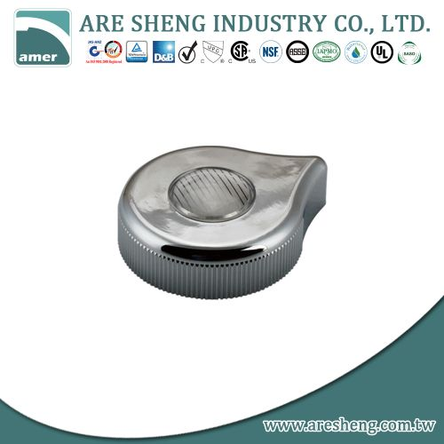 Sterling chrome plastic handle assembly D40-003