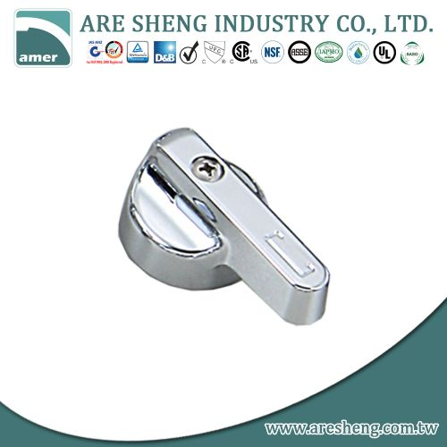 2 metal chrome plated handle replacement D46-003