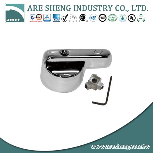 Fit-all metal lever handle repair for lavatory and kitchen D47-012