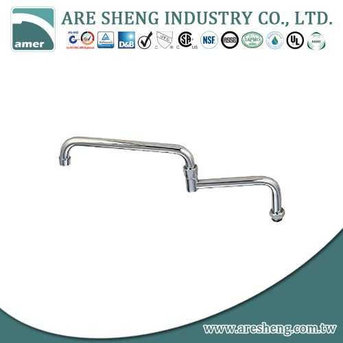 18 inch double joint spout, 6 inch joint & 12 inch spout 082-06