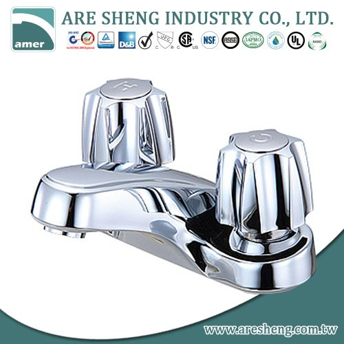 "4"" lavatory faucet with pop-up chrome plated 03A-023"