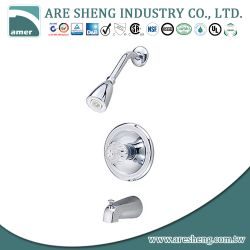 One handle Tub & shower faucet with zinc spout 07-003