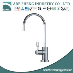 Drinking kitchen water faucet with high spout and single handle D11-010