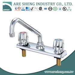 Brass kitchen faucet zinc handle #05A-09