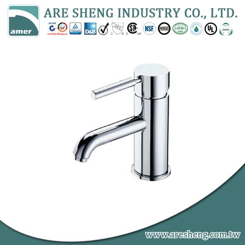 Kitchen faucet chrome brass stick handle #091-15